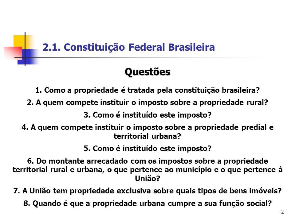 2.1. Constituição Federal Brasileira