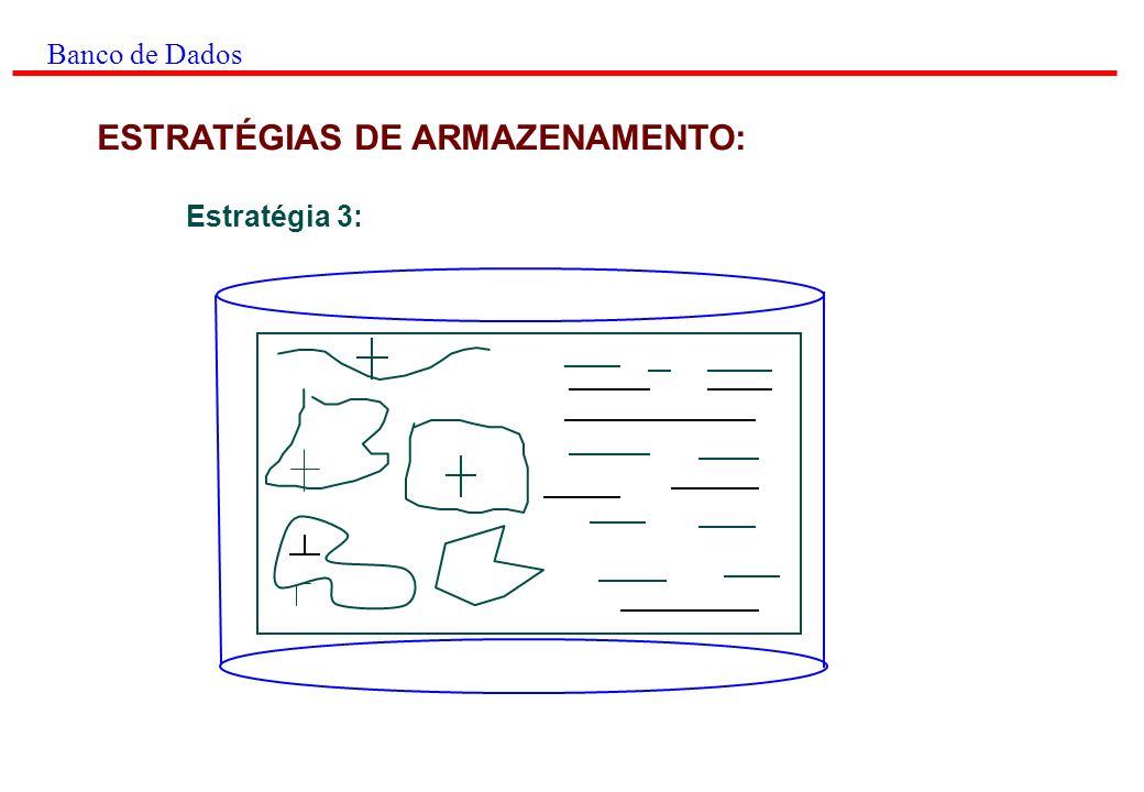 ESTRATÉGIAS DE ARMAZENAMENTO: