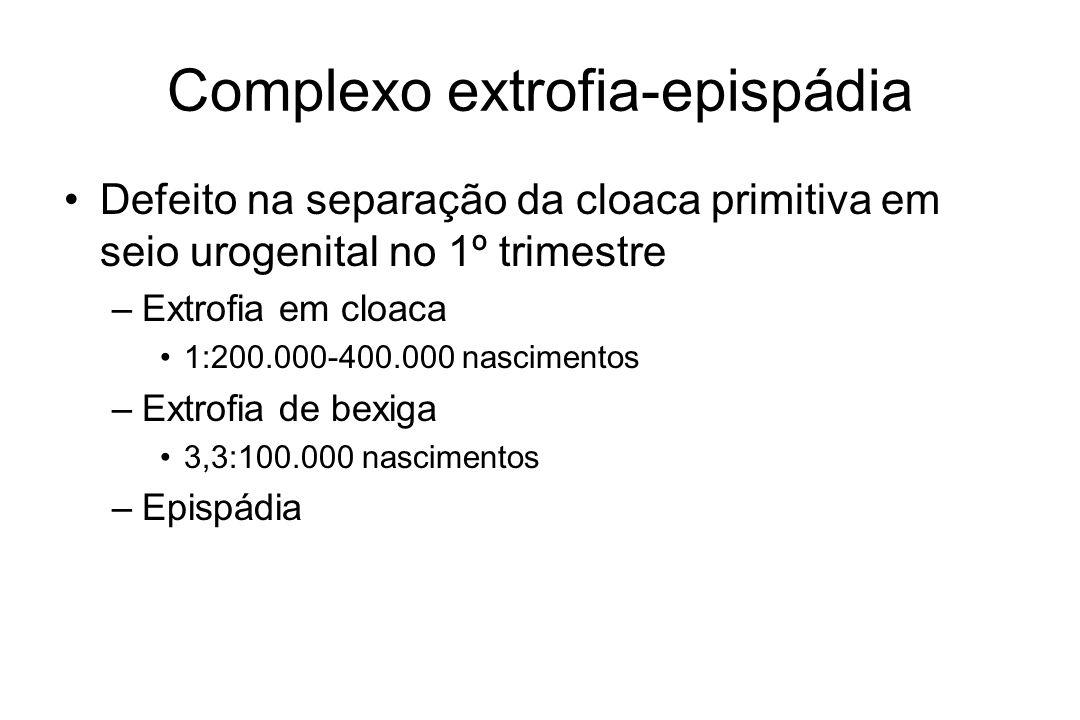 Complexo extrofia-epispádia