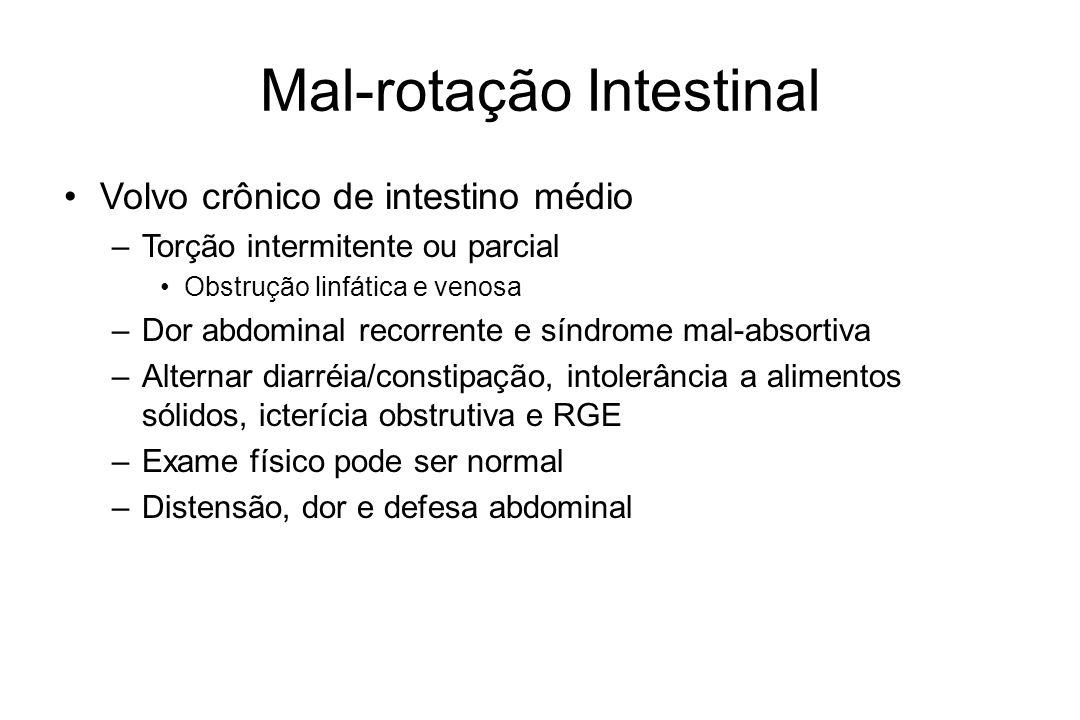 Mal-rotação Intestinal