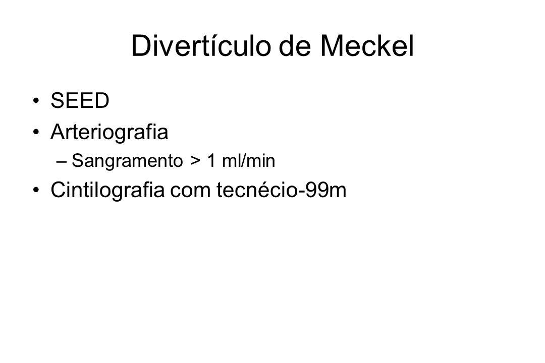 Divertículo de Meckel SEED Arteriografia