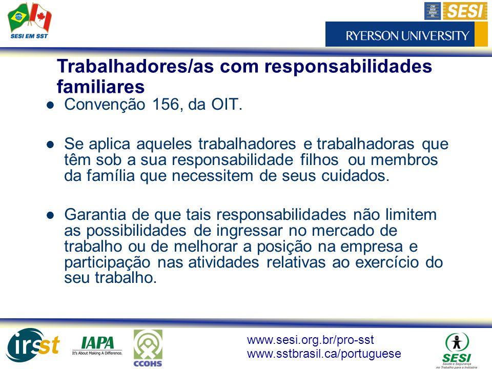 Trabalhadores/as com responsabilidades familiares