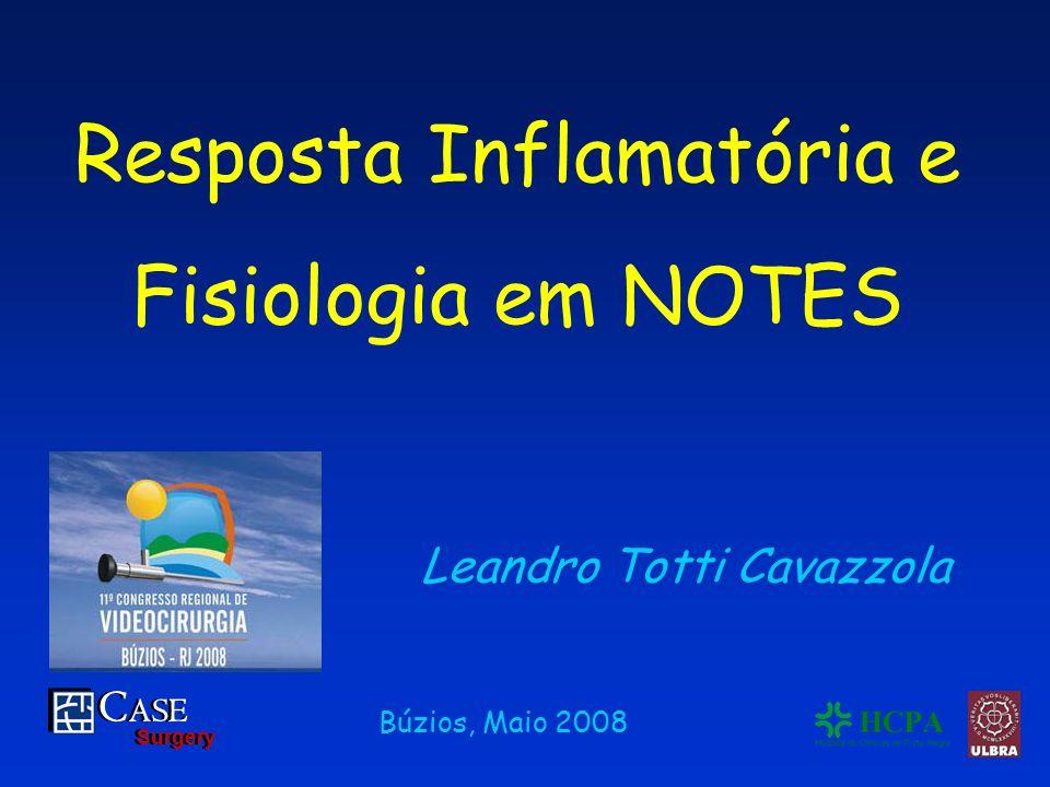 Resposta Inflamatória e Fisiologia em NOTES