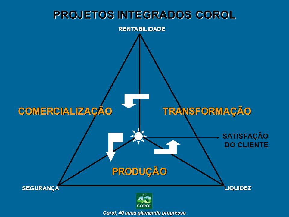 PROJETOS INTEGRADOS COROL