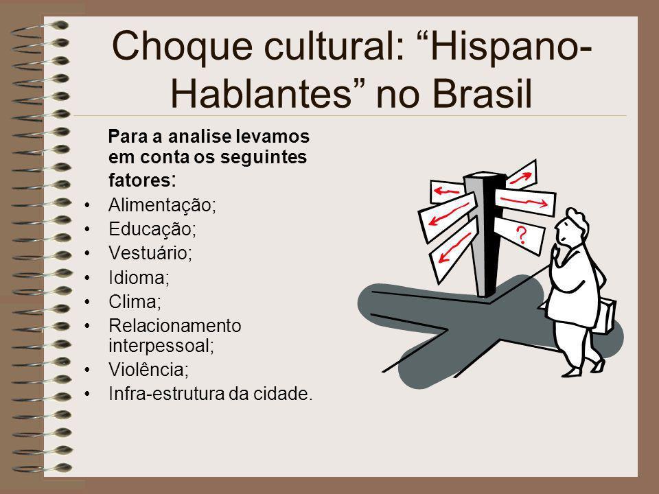 Choque cultural: Hispano-Hablantes no Brasil