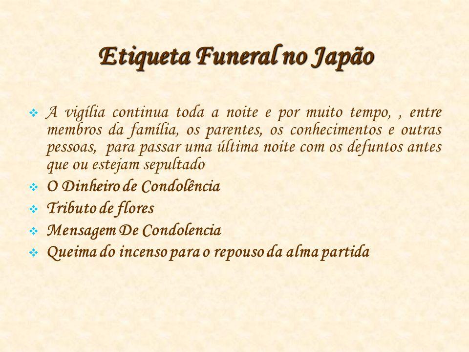 Etiqueta Funeral no Japão