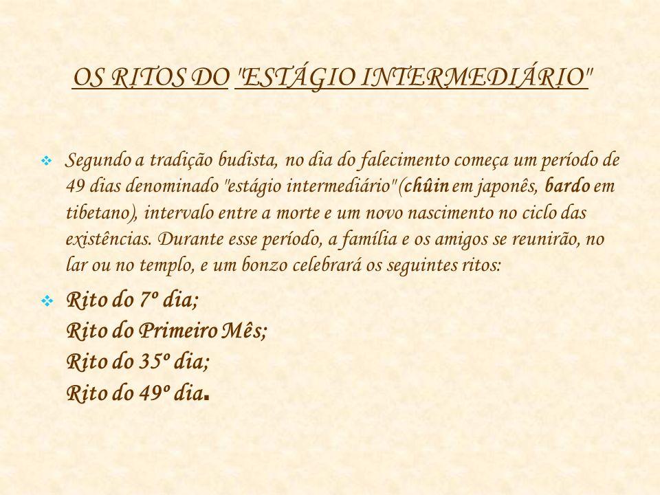 OS RITOS DO ESTÁGIO INTERMEDIÁRIO