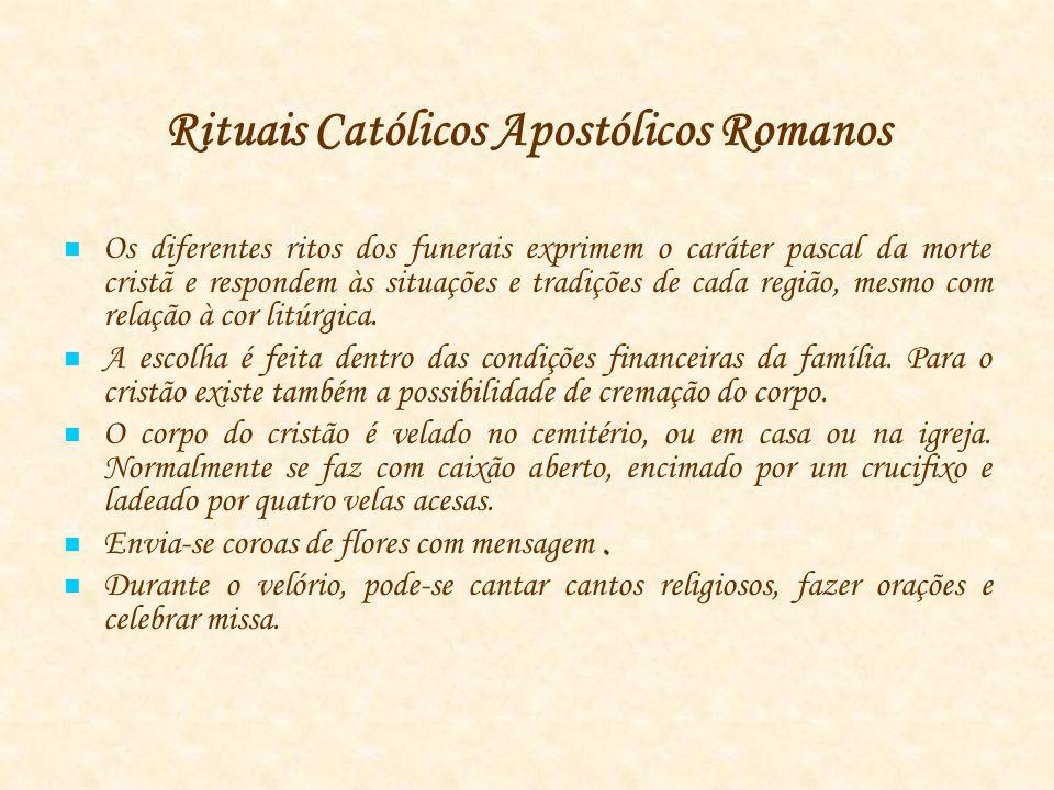 Rituais Católicos Apostólicos Romanos