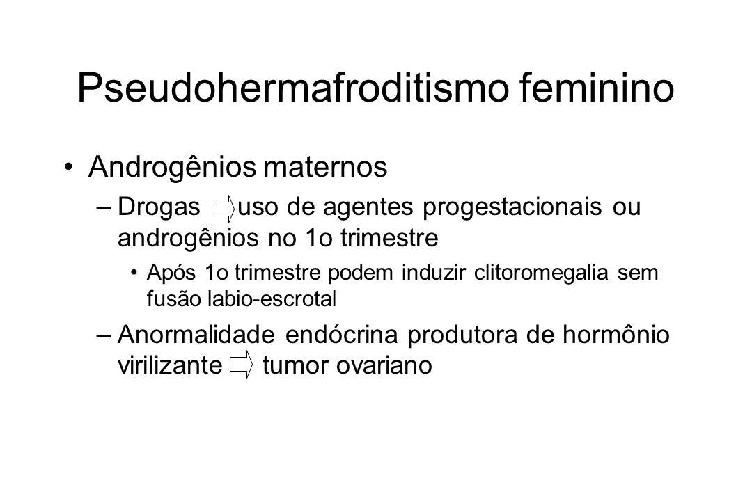 Pseudohermafroditismo feminino