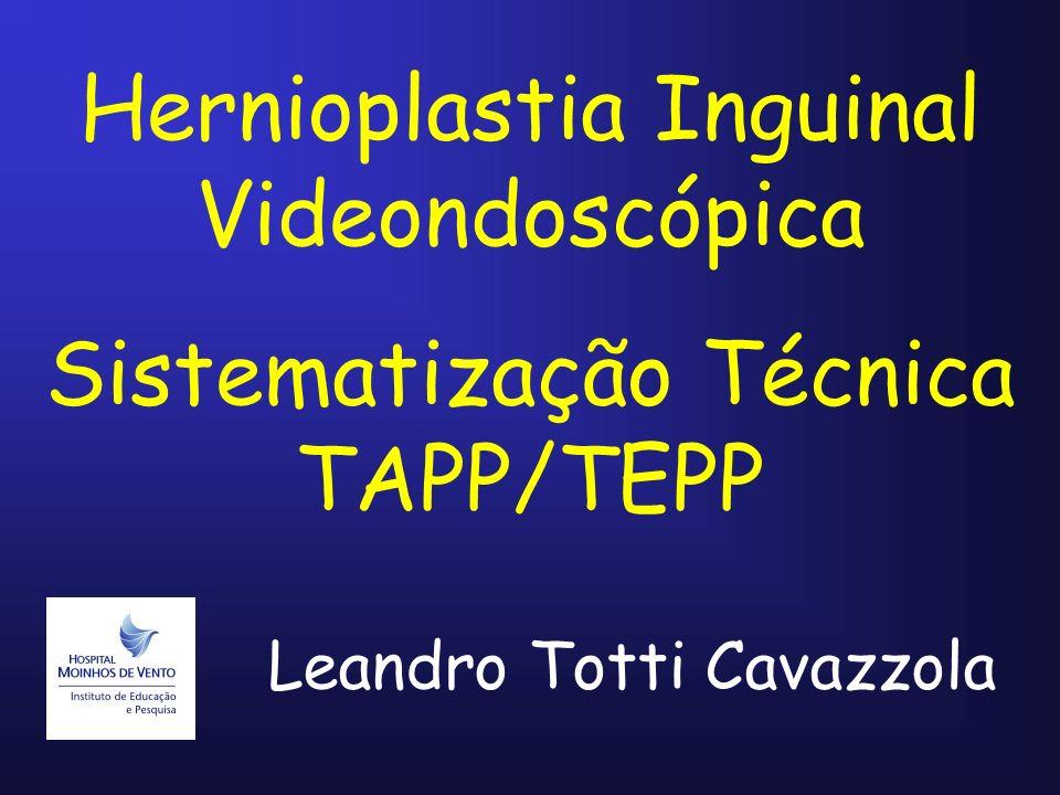 Hernioplastia Inguinal Videondoscópica