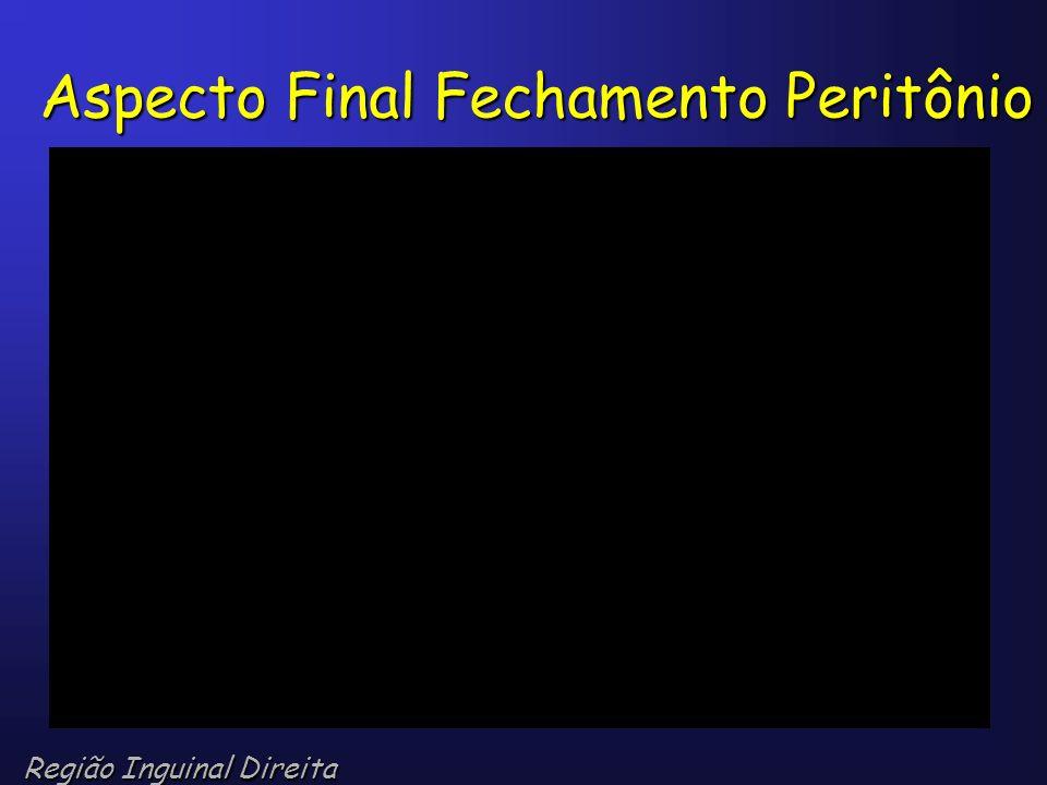 Aspecto Final Fechamento Peritônio