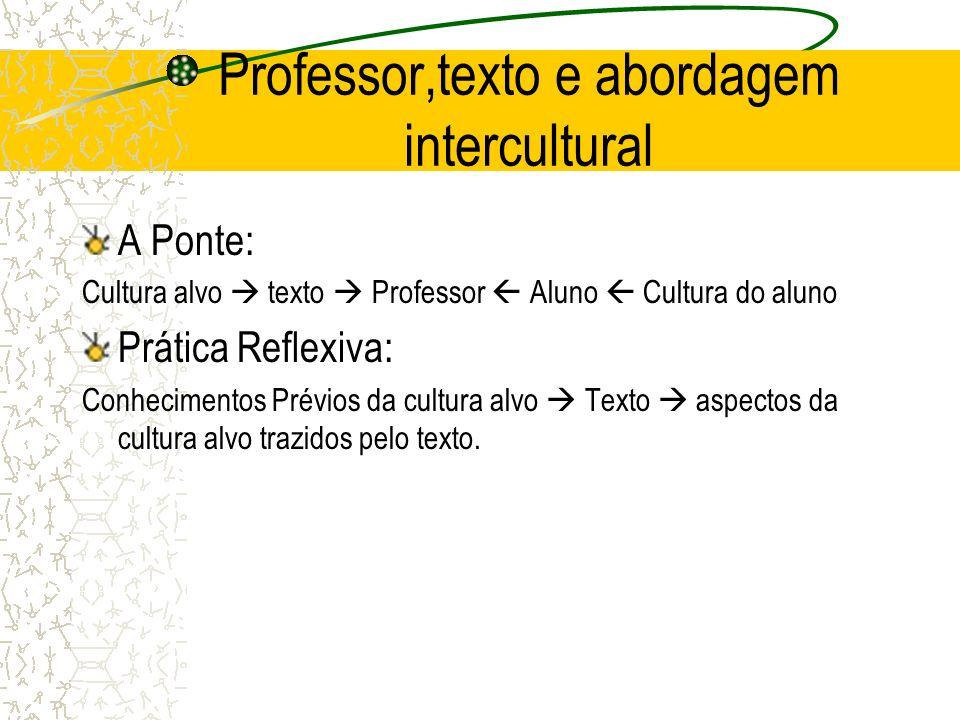 Professor,texto e abordagem intercultural