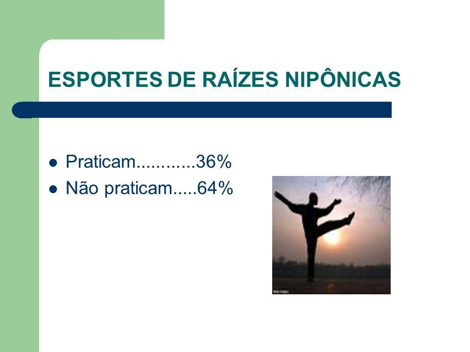 ESPORTES DE RAÍZES NIPÔNICAS