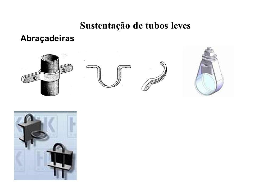 Sustentação de tubos leves