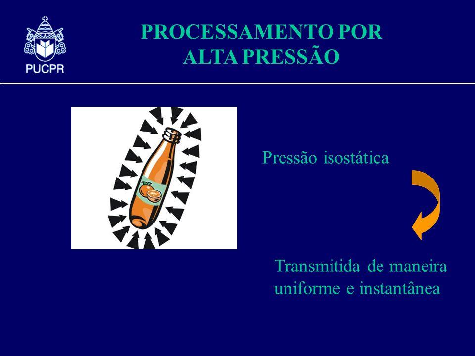 PROCESSAMENTO POR ALTA PRESSÃO