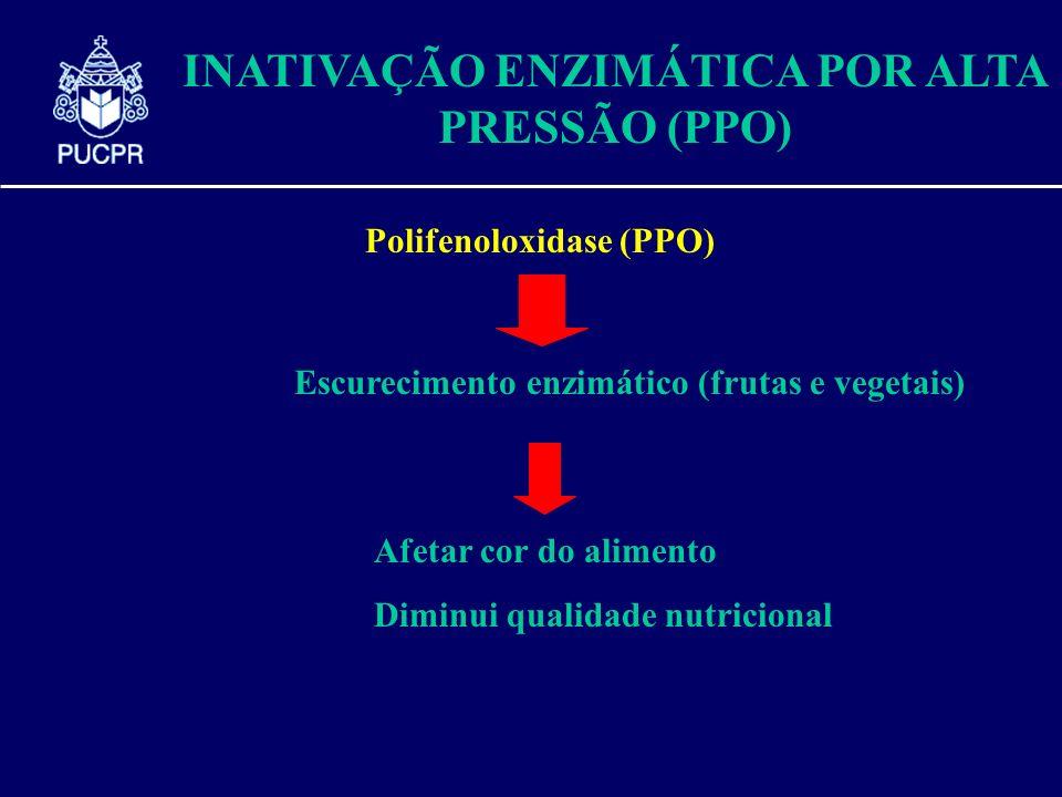 INATIVAÇÃO ENZIMÁTICA POR ALTA PRESSÃO (PPO)