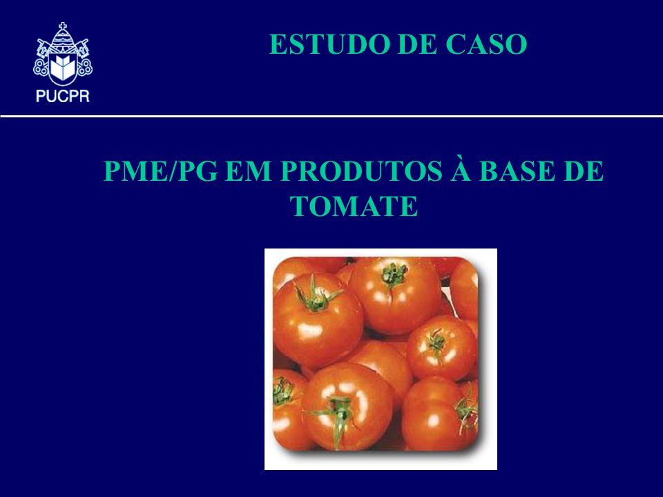 PME/PG EM PRODUTOS À BASE DE TOMATE