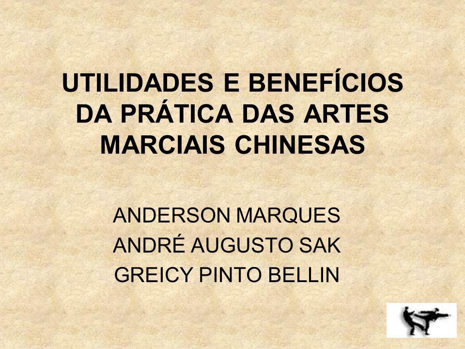 UTILIDADES E BENEFÍCIOS DA PRÁTICA DAS ARTES MARCIAIS CHINESAS