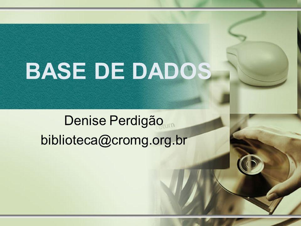 Denise Perdigão biblioteca@cromg.org.br