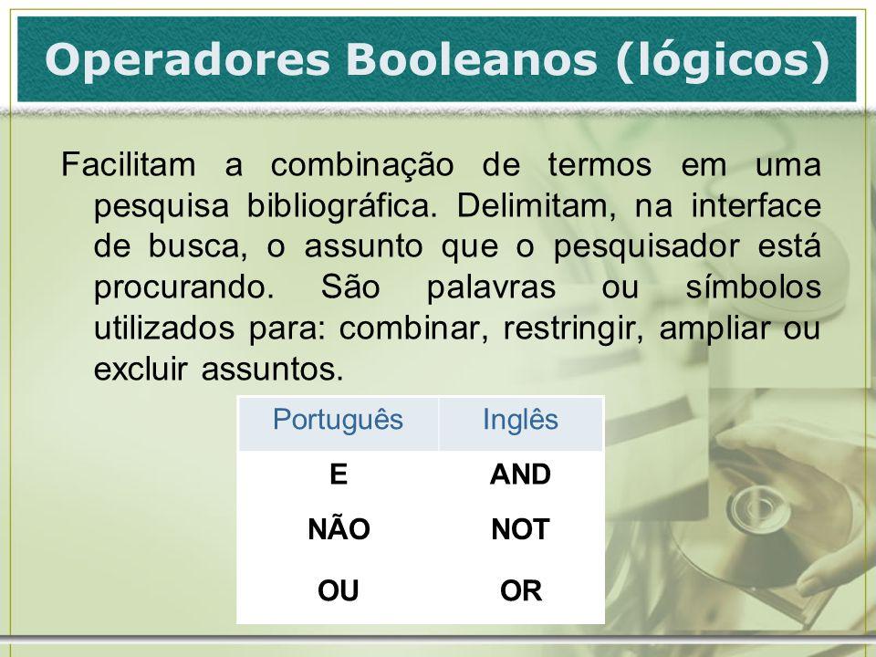 Operadores Booleanos (lógicos)
