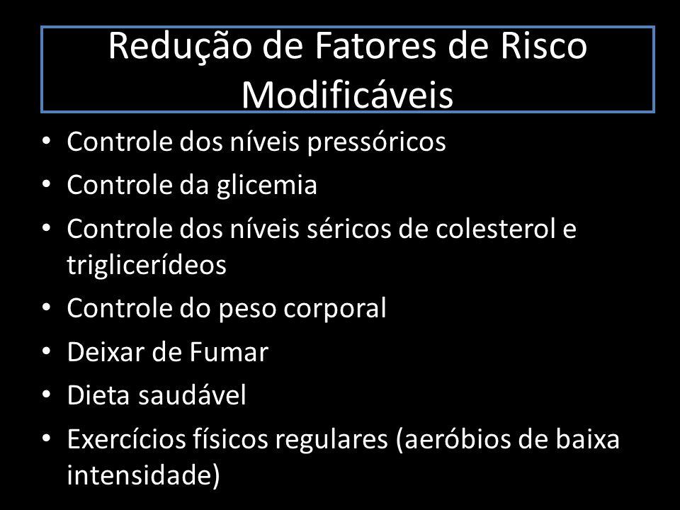 Redução de Fatores de Risco Modificáveis