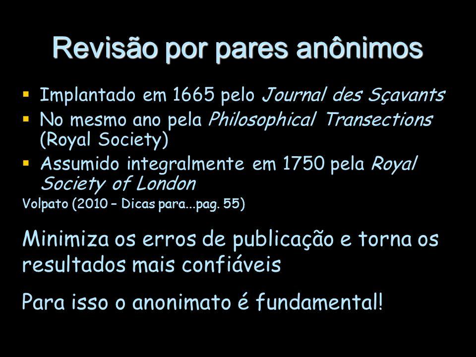 Revisão por pares anônimos