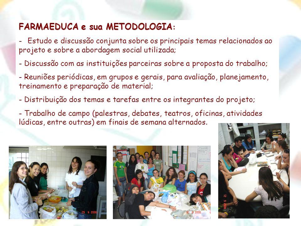 FARMAEDUCA e sua METODOLOGIA: