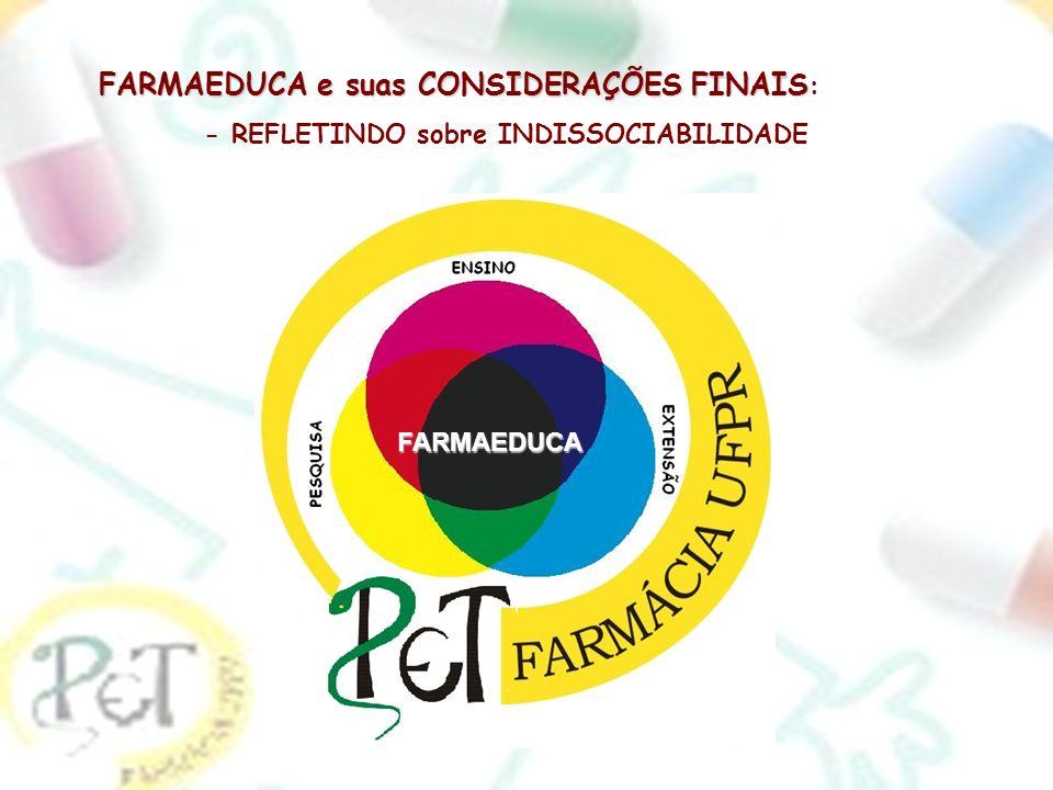 FARMAEDUCA e suas CONSIDERAÇÕES FINAIS: