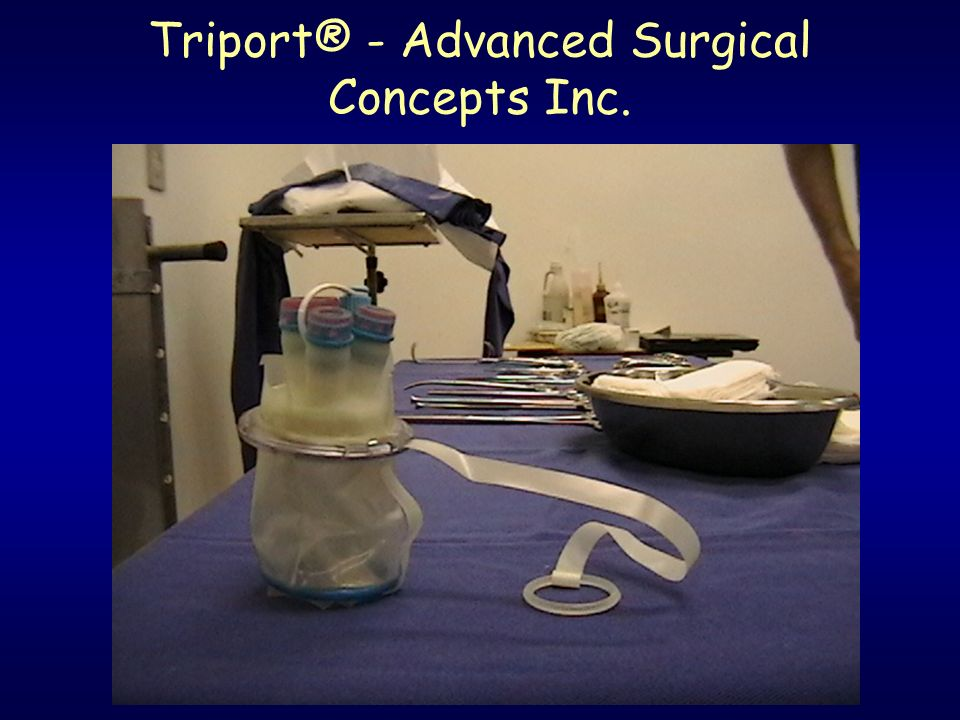 Triport® - Advanced Surgical Concepts Inc.
