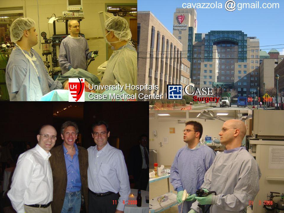 CASE Surgery cavazzola gmail.com University Hospitals