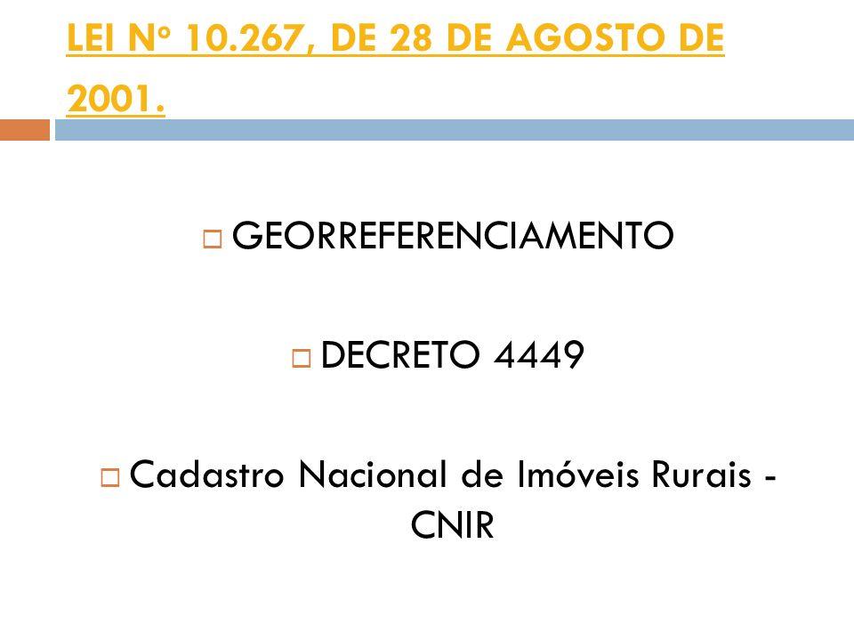 Cadastro Nacional de Imóveis Rurais - CNIR