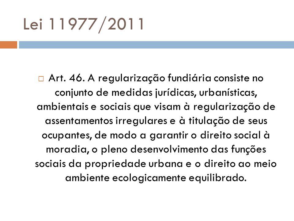 Lei 11977/2011