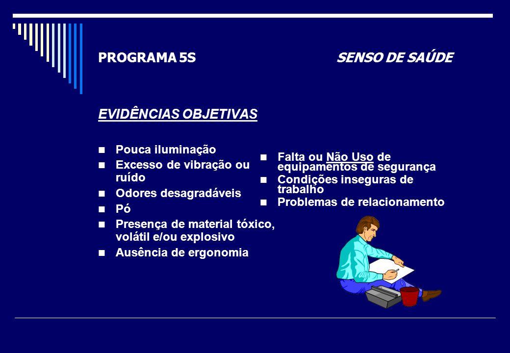 PROGRAMA 5S SENSO DE SAÚDE
