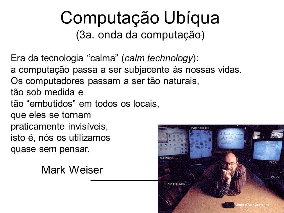 Computação Ubíqua (3a. onda da computação)