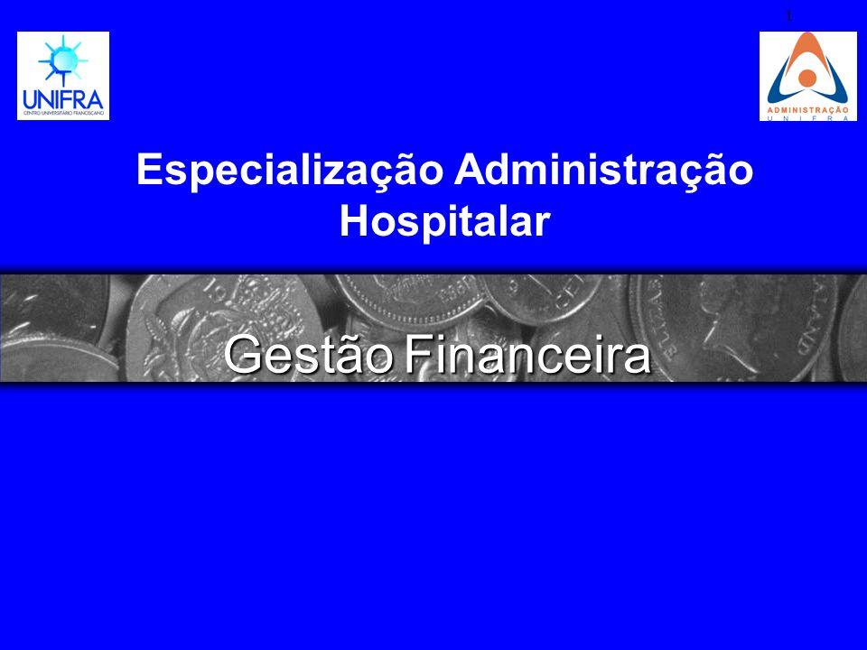 Especialização Administração Hospitalar