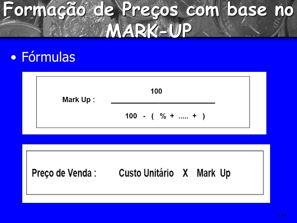 Formação de Preços com base no MARK-UP