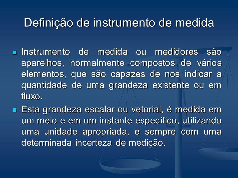 Definição de instrumento de medida
