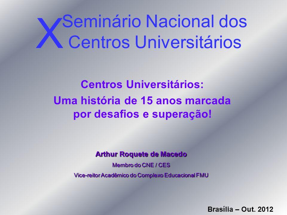 Seminário Nacional dos Centros Universitários