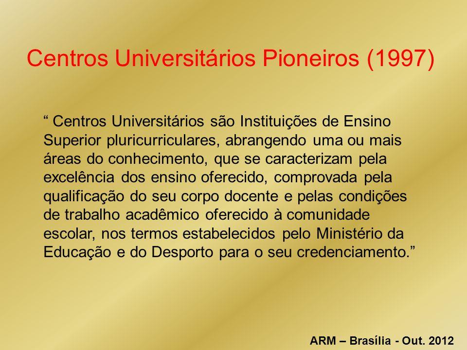 Centros Universitários Pioneiros (1997)