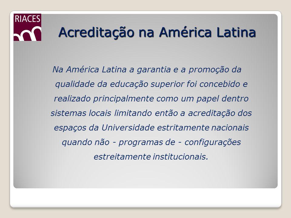 Acreditação na América Latina