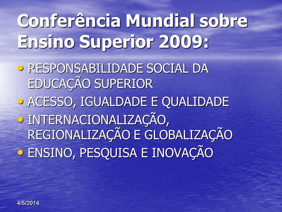 Conferência Mundial sobre Ensino Superior 2009: