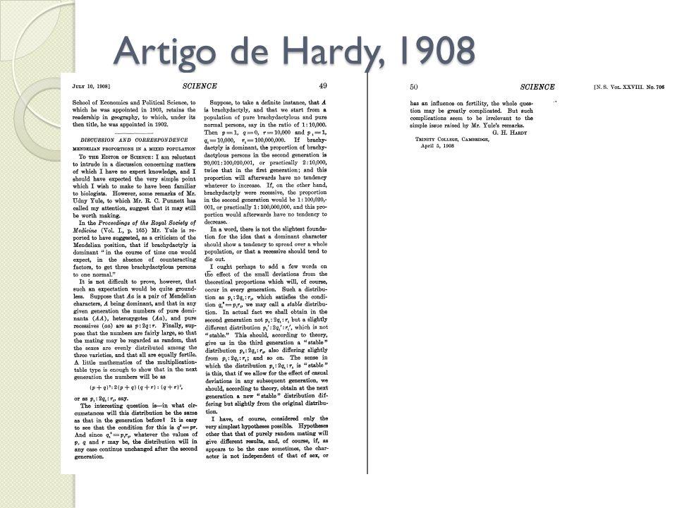 Artigo de Hardy, 1908