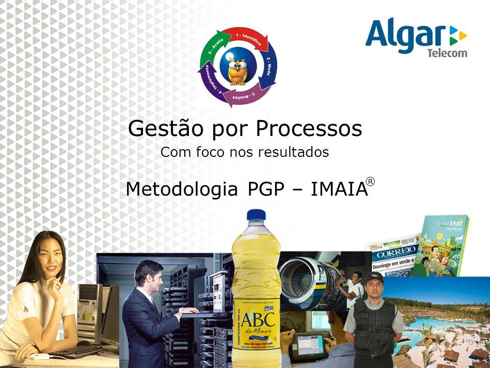 Gestão por Processos Com foco nos resultados Metodologia PGP – IMAIA ®