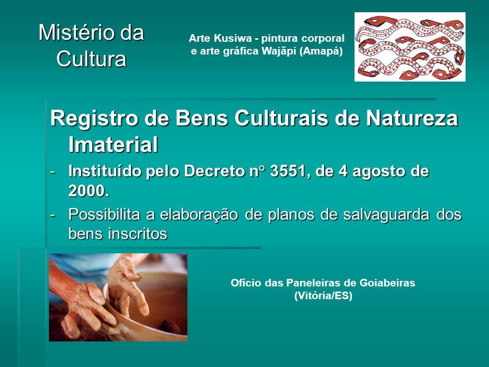 Registro de Bens Culturais de Natureza Imaterial