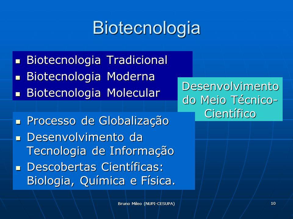 Biotecnologia Biotecnologia Tradicional Biotecnologia Moderna