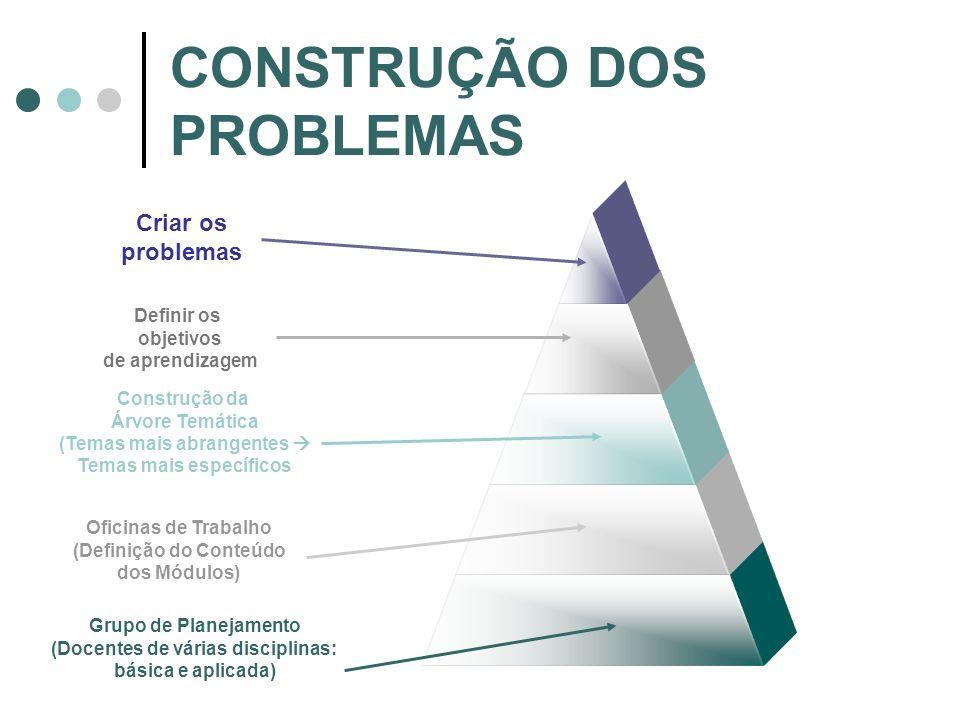 CONSTRUÇÃO DOS PROBLEMAS