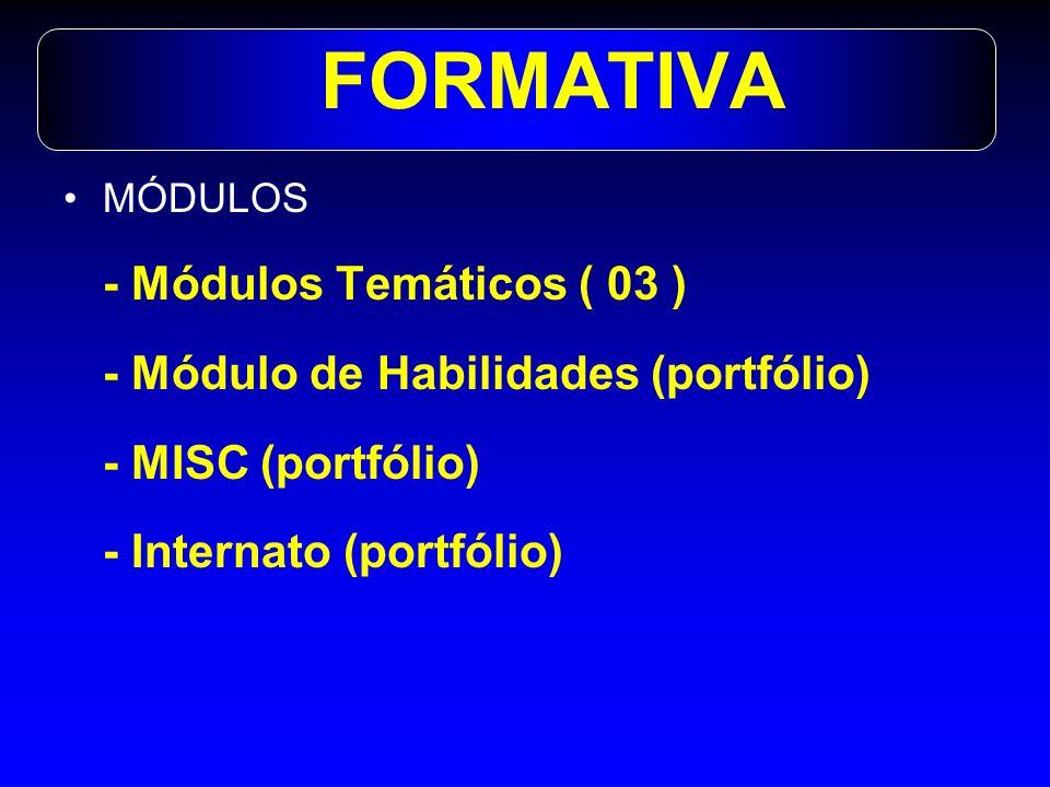 FORMATIVA - Módulos Temáticos ( 03 )