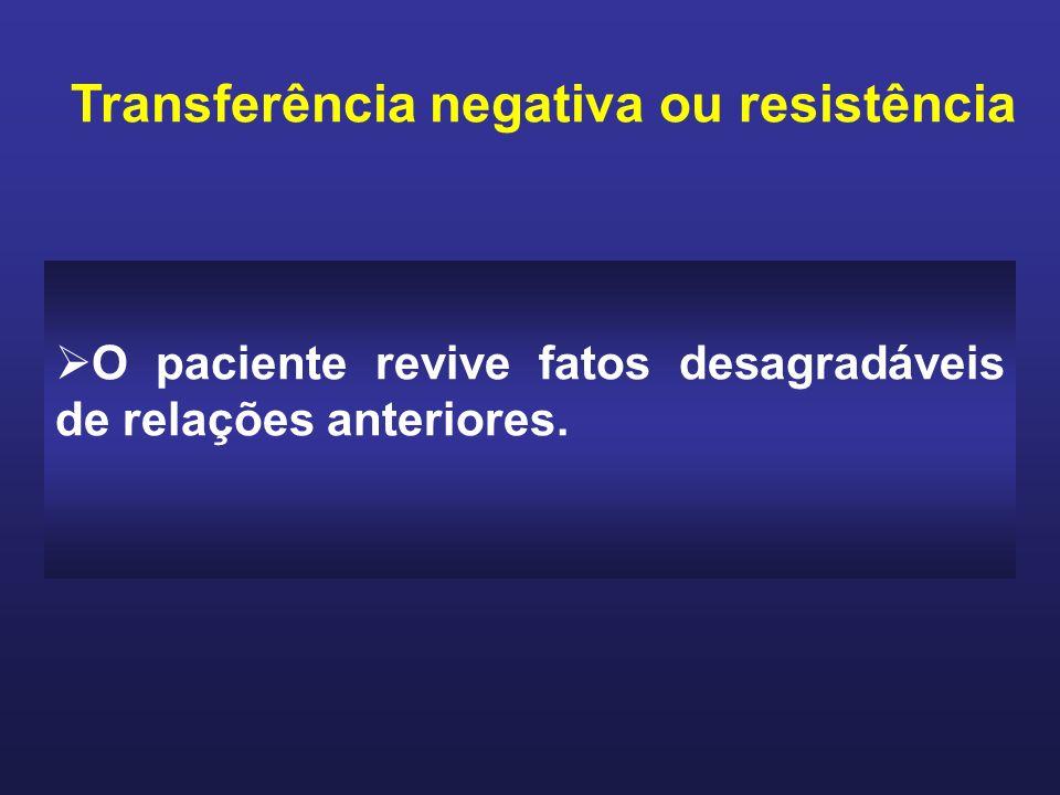 Transferência negativa ou resistência