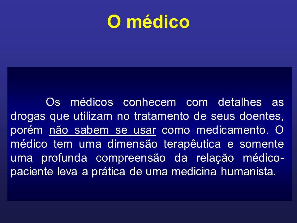 O médico Será que o médico tem consciência do significado do encontro com o outro ser humano E em que profundidade esse encontro se estabelece