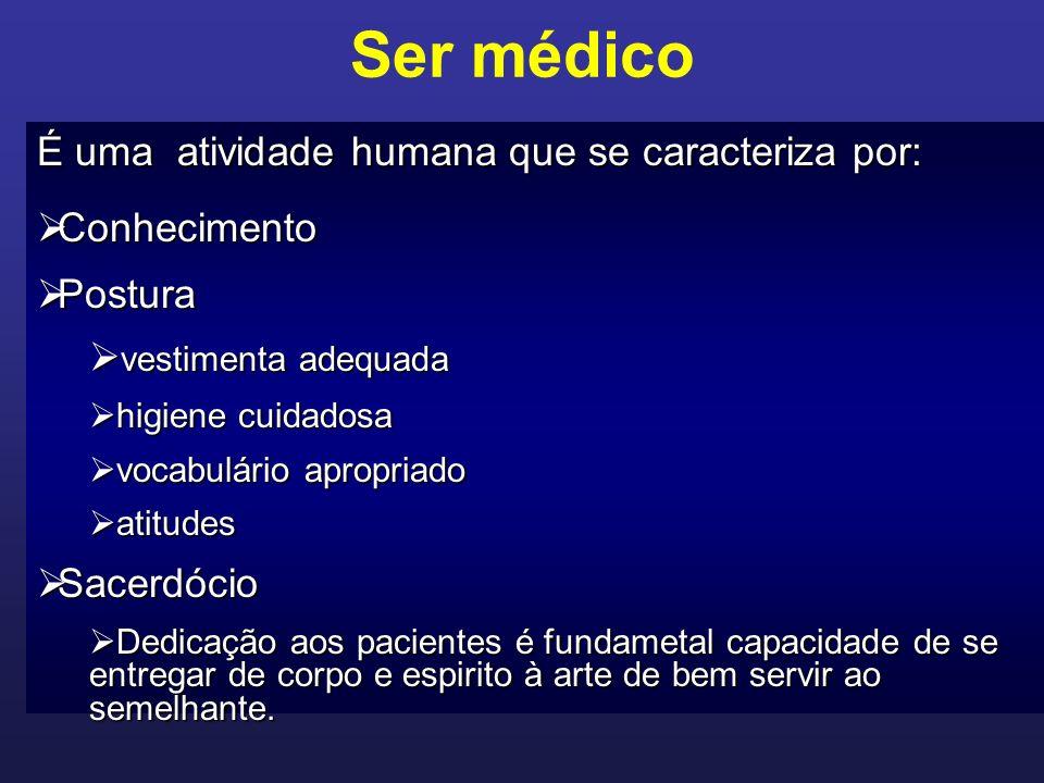 Ser médico POR QUE É ESPECIAL